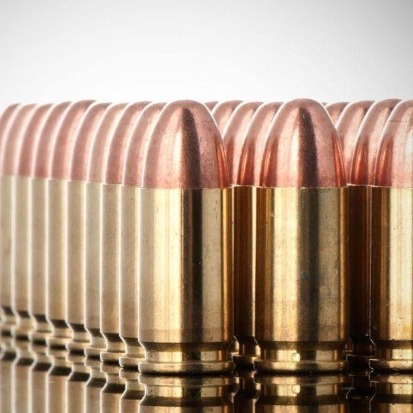 9mm FMJ 100-Rds