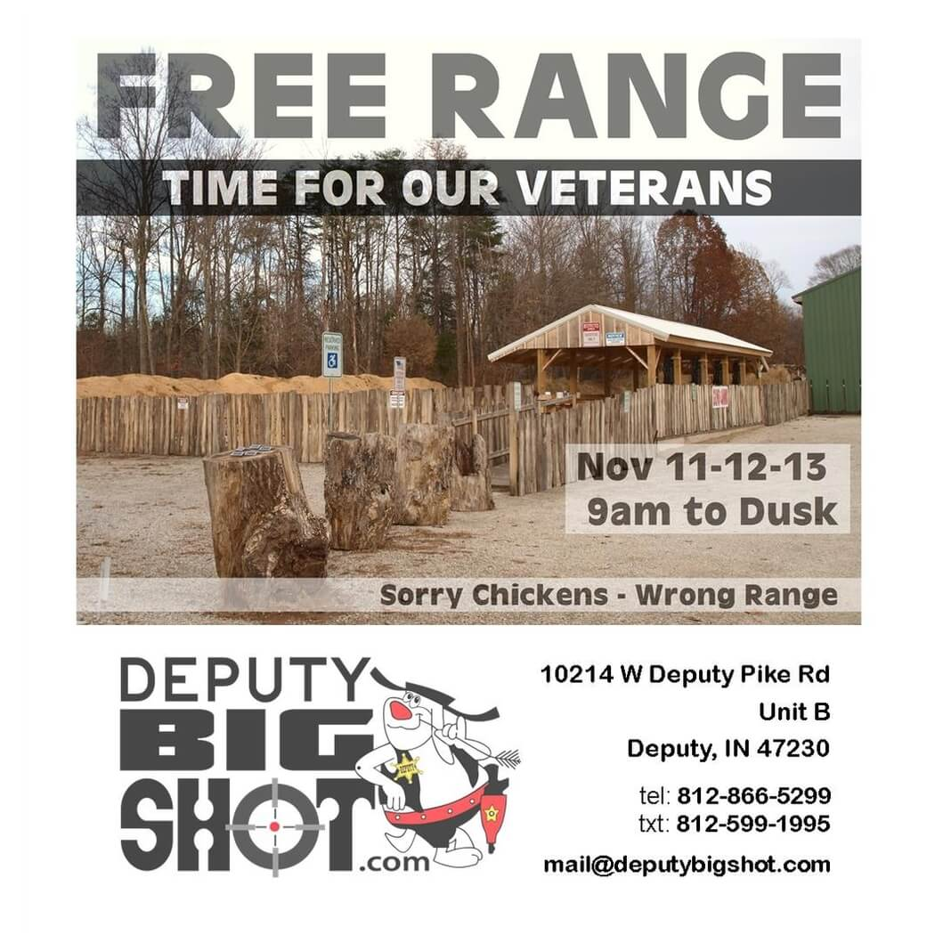 Honoring our Veterans with Free Range Days
