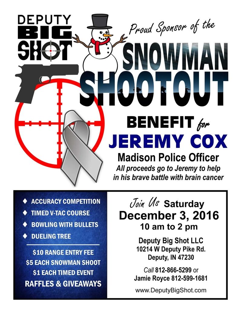Jeremy Cox Benefit